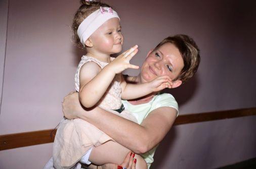 Babcia z wnusią! :)